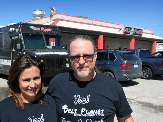 Eric and Rebecca Rutledge, owners of Deli Planet, are expanding their business to include a food truck court and additional parking behind their restaurant on Sheppard Access Road, across from the Main Gate of Sheppard Air Force Base.