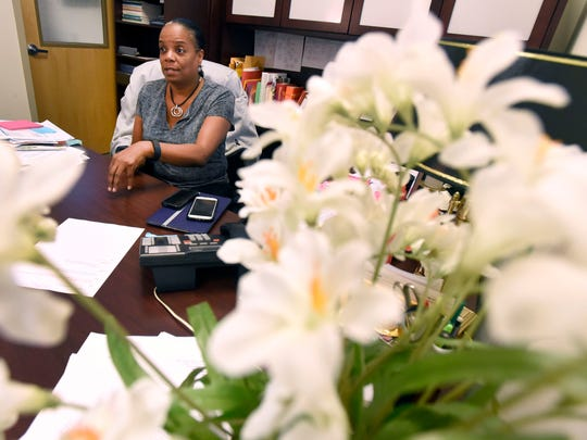 """Olivia Farrow, Balimore's deputy commissioner of community health, says Safe Streets is changing behaviors and what people see as normal. """"It's reducing shootings and homicides — that's clearly the direct result and the best outcome,"""" she said."""