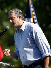 U.S. Rep. Tim Ryan (D-OH) speaks Saturday, Sept. 30,