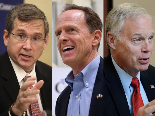 GOP Sens. Mark Kirk of Illinois, Pat Toomey of Pennsylvania