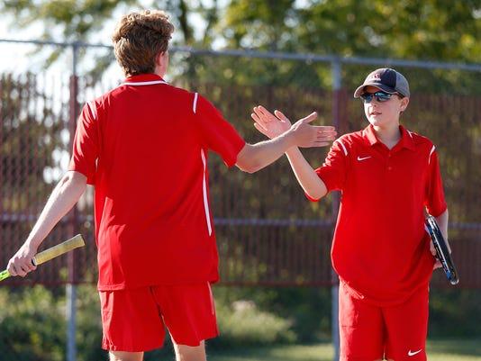 LAF tennis sectional WL vs Jeff