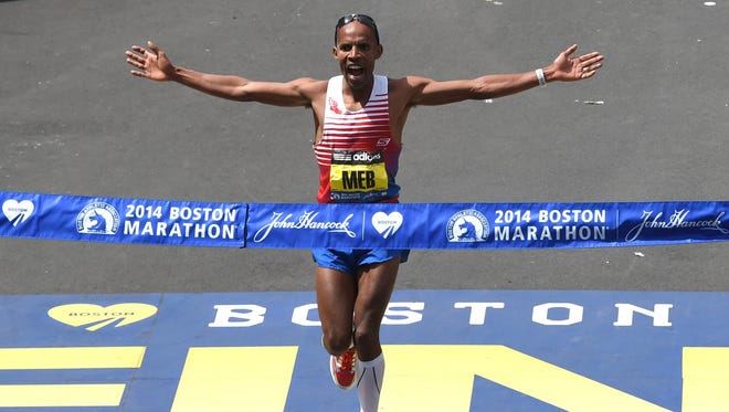 Meb Keflezighi, who won the Boston Marathon in 2014, headlines the list of elite competitors for the Bellin Run in Green Bay on June 11.