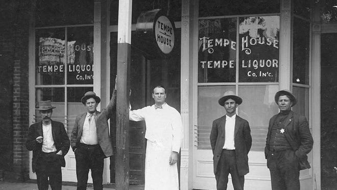 Many Tempe businesses were given a forced day off in 1916, when the City Council enacted a Blue Law mandating that most commercial businesses close on Sundays.