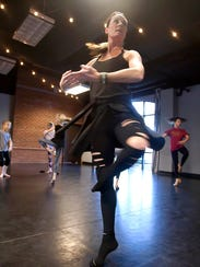 As she leads her Madison students through an improvisational