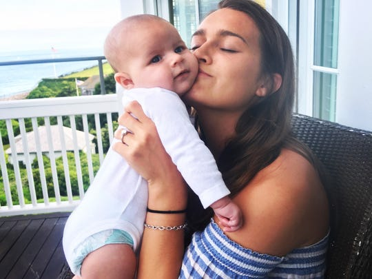 Riley Caroline Conklin was born March 27 to Caitlyn Riley and Titans offensive tackle Jack Conklin. Jack and Caitlyn were college sweethearts at Michigan State and are engaged to be married next June.