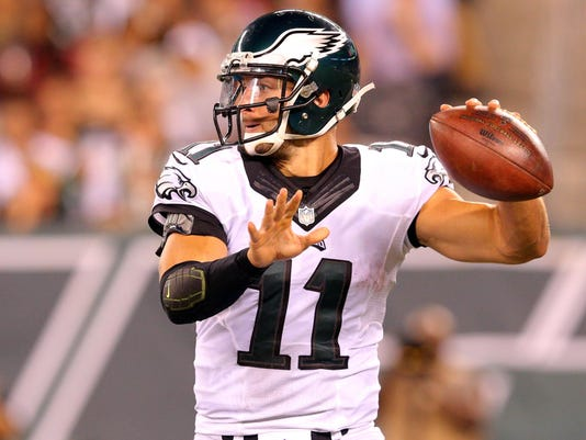 NFL: Preseason-Philadelphia Eagles at New York Jets