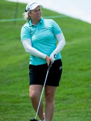 Brittany Lincicome during the Yokohama Tire LPGA Classic Pro-Am at the Robert Trent Jones Golf Trail in Prattville, Ala., on Wednesday May 4, 2016.