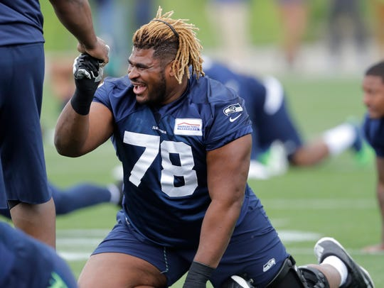 Will D.J. Fluker's straight-ahead blocking style fit