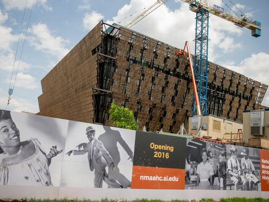 Construction continues on The Smithsonian's National