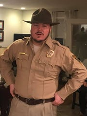 "Penny Hill's Edward Mulvihill will dress as police chief Jim Hopper as part of his home's ""Stranger Things"" theme for Halloween on Tuesday night."