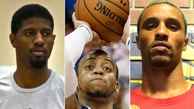 Three Indiana Pacers -- Paul George, Monta Ellis and George Hill -- are ranked among the NBA's top 100 players by SI.com