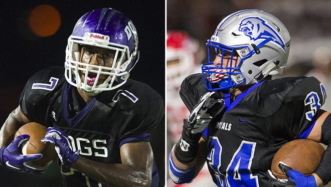 Brownsburg and Hamilton Southeastern will play for the Hoosier Crossroads Conference title Friday night.