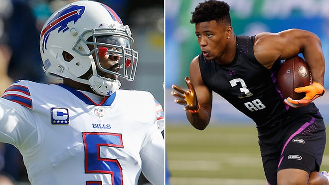 The Cleveland Browns traded for quarterback Tyrod Taylor and wide receiver Jarvis Landry on Friday.