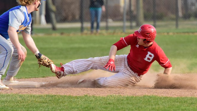 Bellevue senior shortstop Bryce Ray is News-Messenger player of the year.