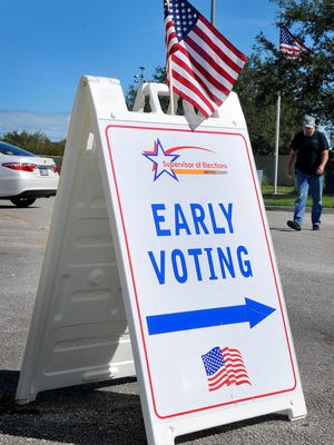 Early in-person voting ends at 4 p.m. Saturday in Brevard County/