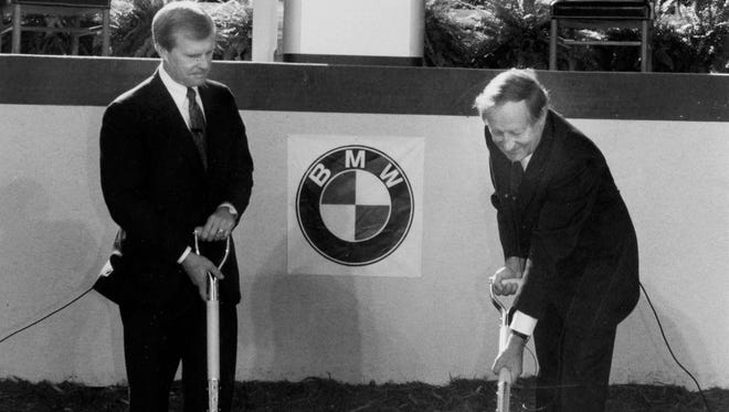 BMW's groundbreaking on March 24, 1993.