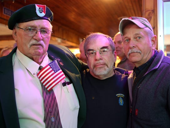Special Forces Association Chapter 19 board members