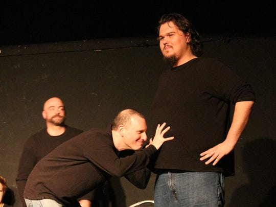 Mike Griffin, David Kritz and Brandon Lericos, left to right, performing at a recent show.