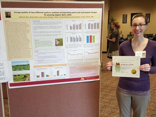 University of Minnesota graduate student Kathryn Ruh