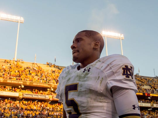 Golson and the Irish will have to try not to think