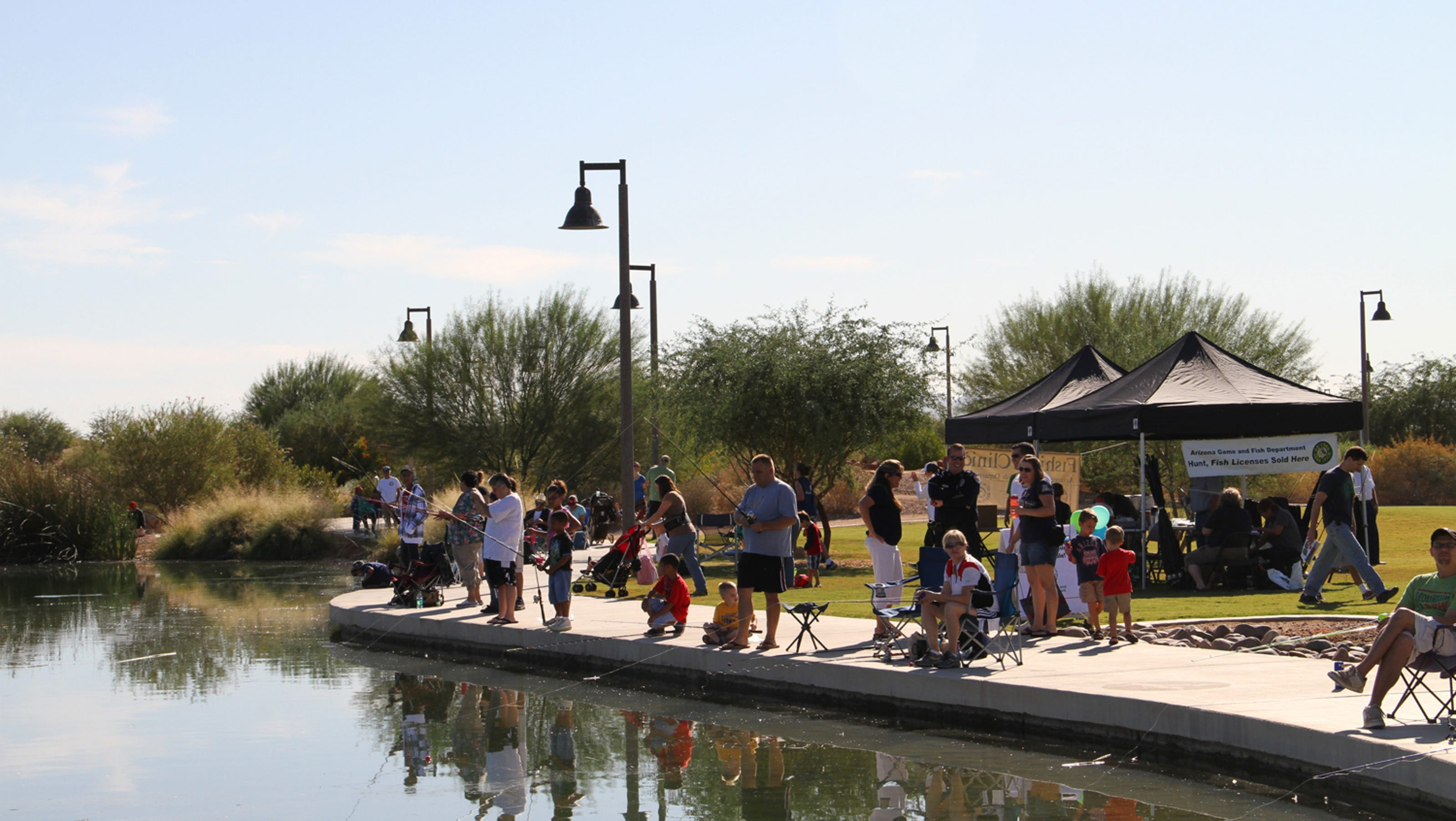 Southeast valley fishing spots face enforcement challenges for Fishing spots in arizona