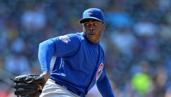 Aroldis Chapman has averaged 36 saves in each of the
