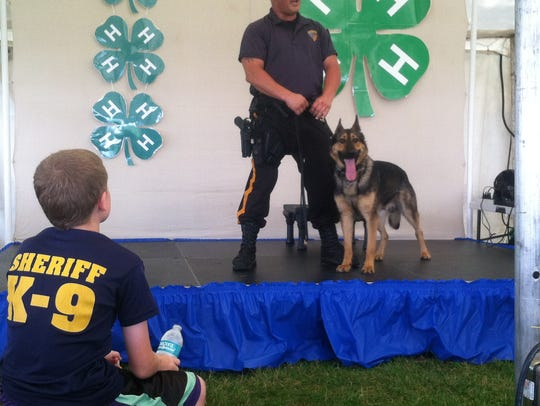 Government tents at the Somerset County 4-H Fair offer