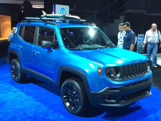 Renegade mini-Jeep on sale in January 'well below' $20k