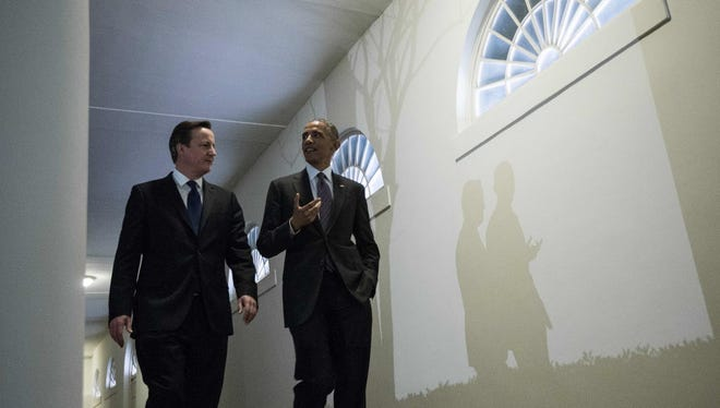 President Obama welcomes British Prime Minister David Cameron to the White House on Thursday night.