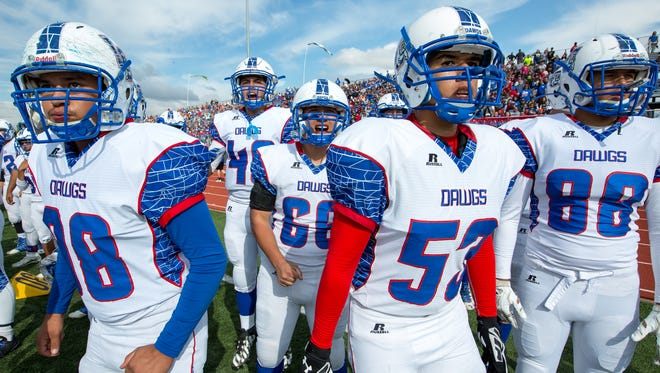 Las Cruces High School takes on Rio Rancho High for the Class 6A state title Saturday in Rio Rancho.