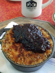 The oatmeal brulee from Parks and Rec diner in Detroit