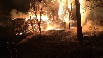 Fire behind Grey Eagle under investigation