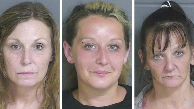 From left, Tina Sprague, Amanda Anderson and Michelle Marone.