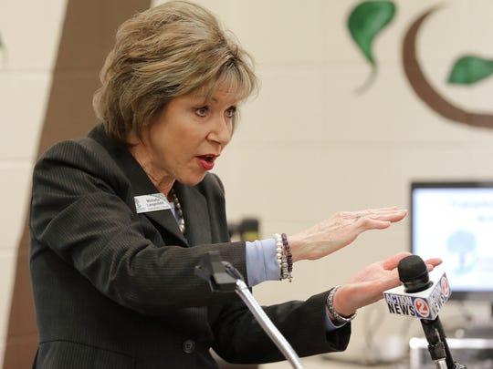 Green Bay Area School Superintendent Michelle Langenfeld