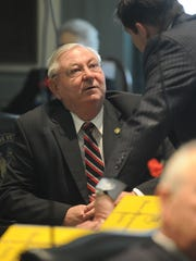 Delaware Rep. William Carson, D-Smyrna, introduced legislation that would expand parks freebies, offering surf fishing tags at no cost to active members of ladies auxiliary crews at Delaware volunteer fire companies.