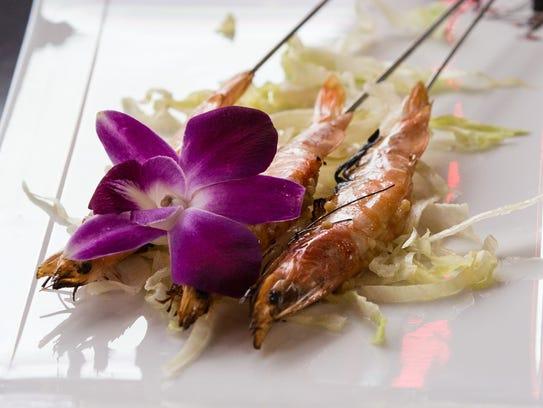 The shrimp at Chuar on Tuesday, Oct. 10, 2017.