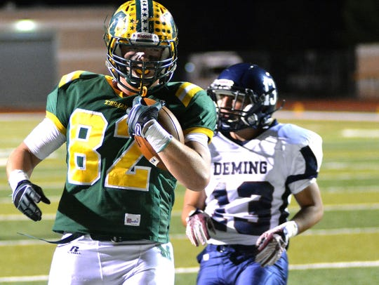 Mayfield's Noah Pierce has a clear path to the end