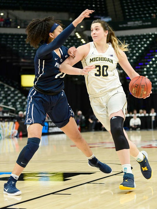Hallie Thome, Michigan women's basketball