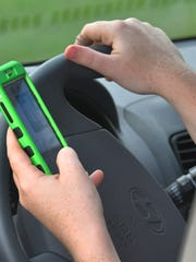 Texting while driving as an ongoing problem.