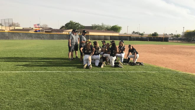 Apache Junction softball got a win on senior day.