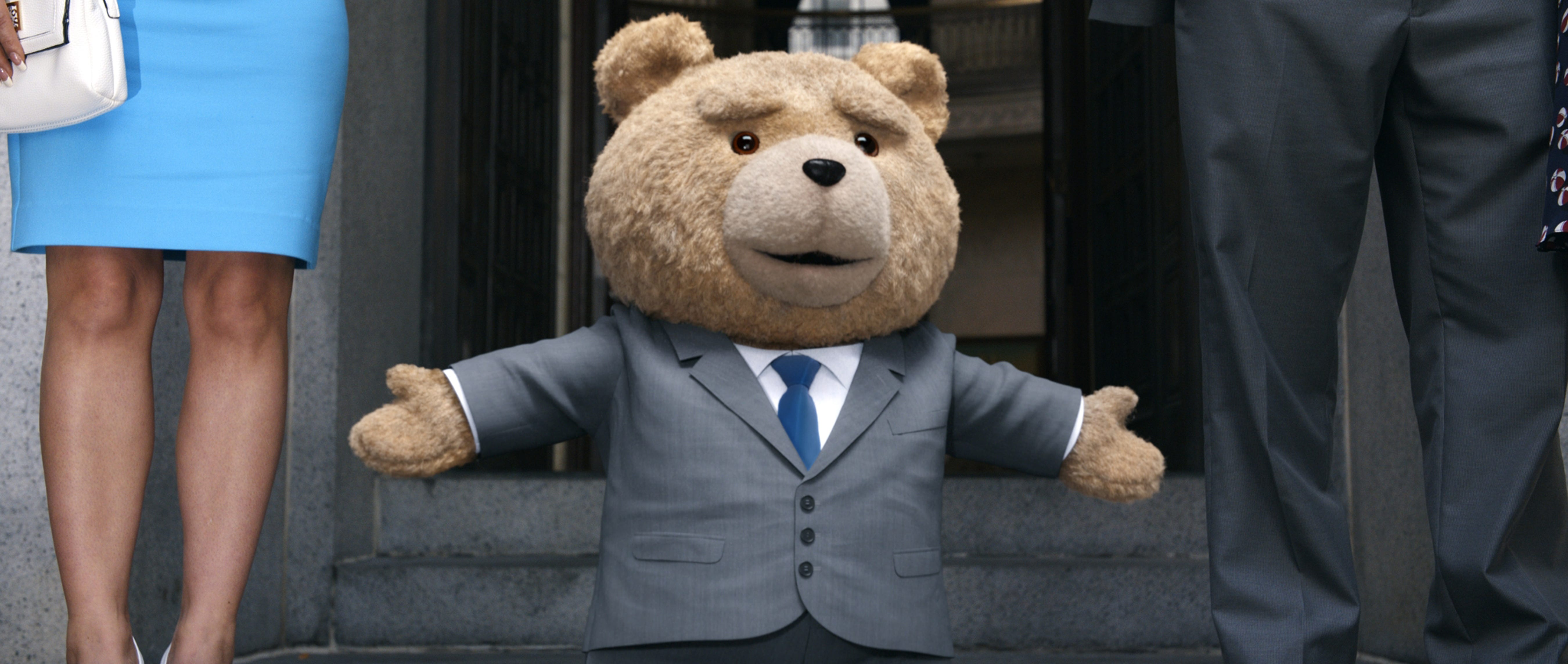 Bears in suits
