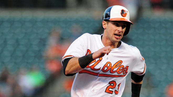 Joey Rickard's early success has delighted Baltimore manager Buck Showalter.