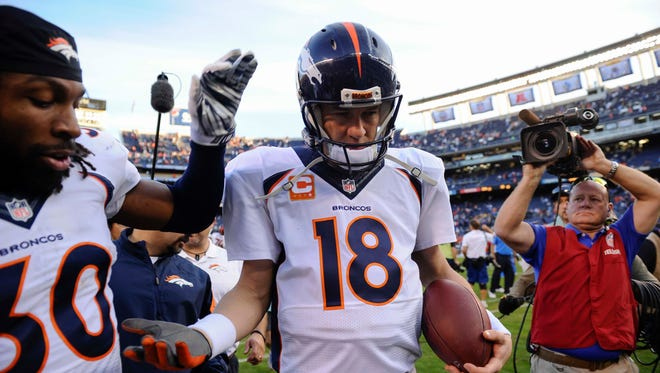 Peyton Manning and the Denver Broncos will face the Cincinnati Bengals Monday night coming off a four-win streak.