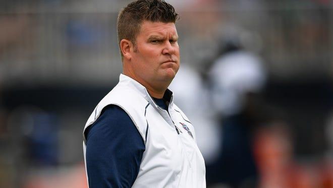 Titans general manager Jon Robinson