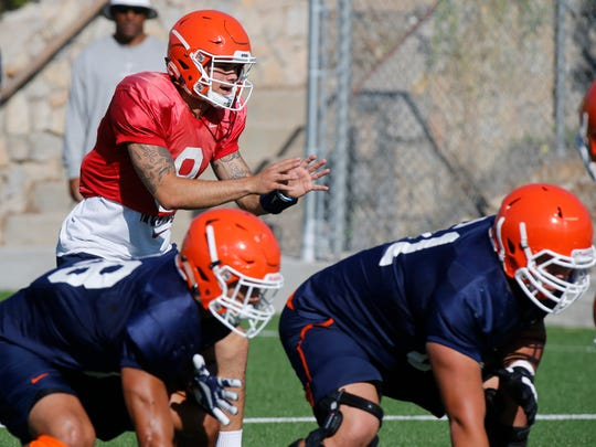 UTEP starting quarterback Ryan  Metz will be out of action this coming Saturday, and senior quarterback Zack Greenlee will take over the starting role when the Miners face off against Western Kentucky in the Sun Bowl. In another starting role for the UTEP football team will be former and interim head coach Mike Price making a return to the sidelines for Saturday nights homecoming game.