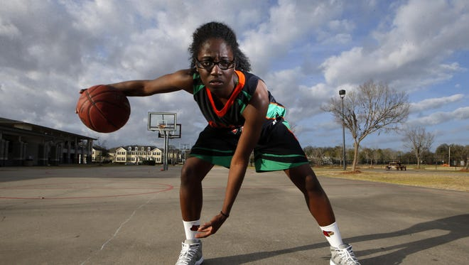FAMU DRS senior Jazmine Jones is the All-Big Bend Player of the Year for the second straight season after leading the Rattlers to a second consecutive Class 2A state title. Jones averaged 21 points and 10 rebounds per game.