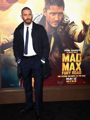 """arrives at the Premiere Of Warner Bros. Pictures' """"Mad Max: Fury Road"""" at TCL Chinese Theatre on May 7, 2015 in Hollywood, California."""