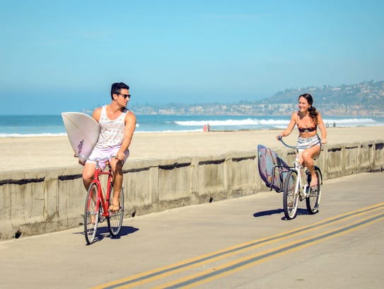 Pacific Beach is the quintessential SoCal beach town.