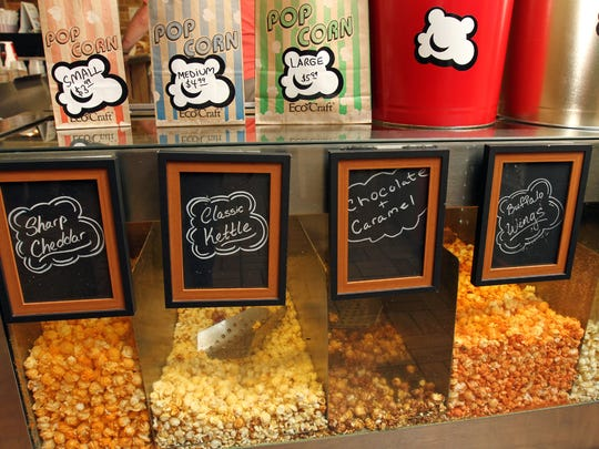 The Popcorn For The People Café at Brunswick Square Mall offers a selection of flavored popcorn.