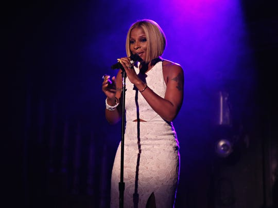 "Mary J. Blige performs at The Box  in New York City. Once her tour ends, she will head straight to rehearsal of a live NBC production of ""The Wiz"" in which she will play the Wicked Witch of the West, Evilene."